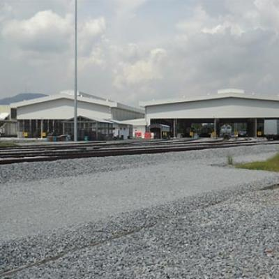 Bukit Tengah Depot for Double Electric Tracks (PLBE) between Ipoh-Padang Besar